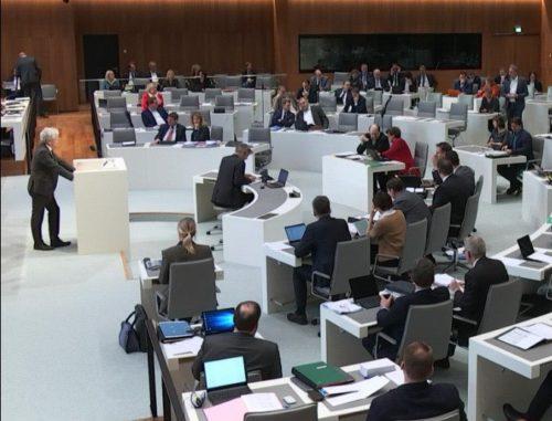 Im Mittwochs-Plenum